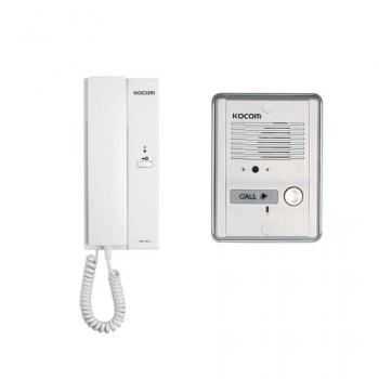 Комплект аудиодомофона Kocom KDP-601A + MS2D
