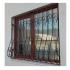 Дутые решетки на окна (квадрат 12 мм)