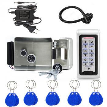 Комплект електрозамок ATIS і кодова клавіатура з 10 ключами СКД