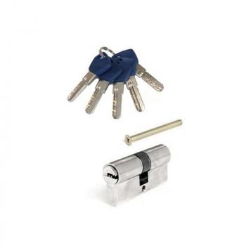 Циліндр Apecs EM  ключ/ключ (хром)