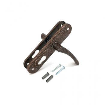 Ручка дверна на планці Аріко 55 мм