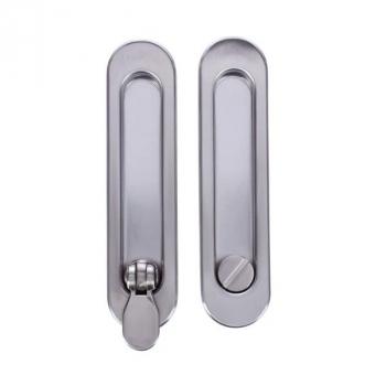 Ручки для раздвижных дверей Armadillo SH010-BK (под фиксацию)