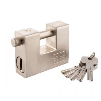 Замок навесной GUSAM/SFB 84мм Побразный , лазерный ключ