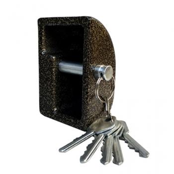 Висячий замок Aspect ЗН-М (лодочка) 5 ключей