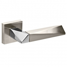 Ручки Fuaro DIAMOND DM SN/CP-3  матовый никель/хром