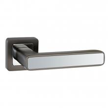 Дверні ручки PUNTO MARS QR GR / CP-23 графіт / хром