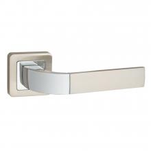Дверні ручки PUNTO ORION QR SN / CP-3 матовий нікель / хром