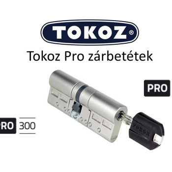 Цилиндровый механизм TOKOZ PRO 300 Ключ/Ключ