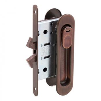 AGB Art. B029235022 KIT C Ручка на раздва двері + механізм вж ант. бронза