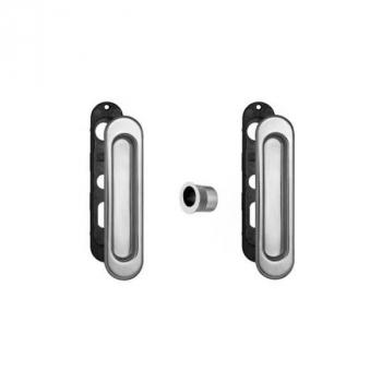 AGB Art. B019270030 KIT F1 Комплект ручок на раздва двері + ручка д / витяг двері хром