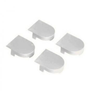 AGB Art. E302001191 Комплект ковпачків для петлі Eclipse білий