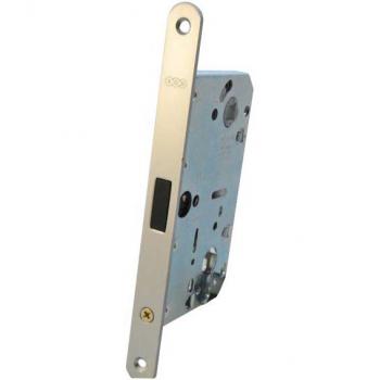 AGB Art. B051036034 Механізм для міжкімнатних дверей Mediana Polaris під циліндр мат хром 85мм