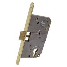 AGB Art. B010405003 Механизм для межкомнатных дверей Mediana совмещенный, латунь, 90мм