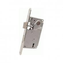 AGB Art. B010025006 Механизм с ключом ригельным, цвет никель