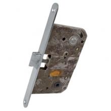 AGB Art. B010195034 Механизм WC для межкомнатных дверей  Mediana совмещенный, матовый хром, 90мм