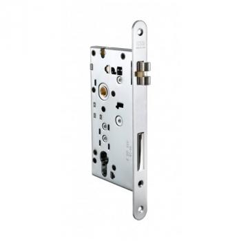 AGB Art. B503015006 Механизм замка Opera DQ SL 22мм никель