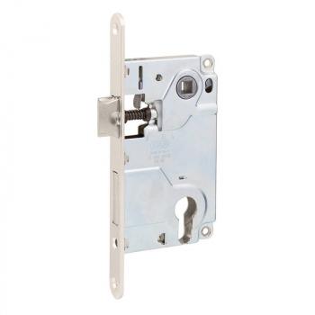 Механизм для межкомнатных дверей AGB Centr B010255006, никель, 85мм