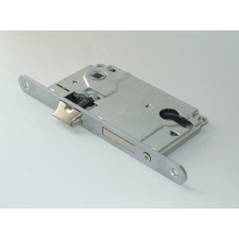 Механизм для межкомнатных дверей AGB B010255034,матовый хром 85мм