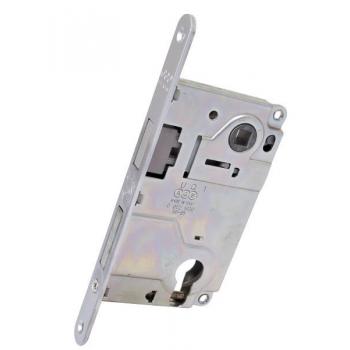 Механизм под цилиндр AGB Centro Focus B040255034 матовый хром 85мм