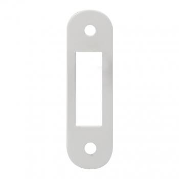 Ответная планка к механизму AGB совм., белая, без отбойника