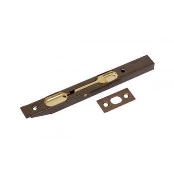 Шпингалет врезной 150/16 откидной античная бронза AGB D003201522