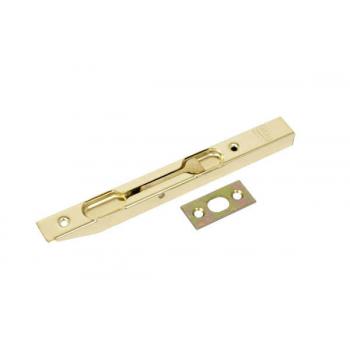 Шпингалет врезной 150/16 откидной латунированный AGB D003201503