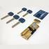 Цилиндр Apecs XR ключ-тумблер (хром)