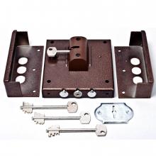 Замок накладной CERBER С1-П с постояним ключем