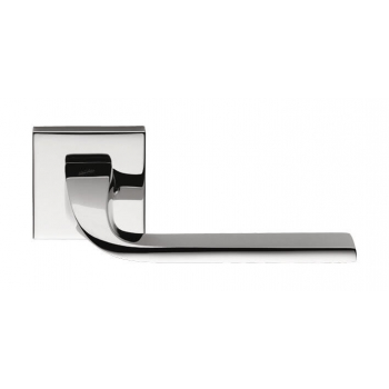 Ручки Colombo (ручки дверные Италия) ISY BL11 RSB, хром, утонченная розетта 6 мм
