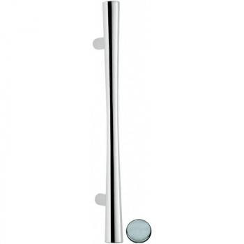 Ручка тянущая Ручки Colombo (ручки дверные Италия) Zen CB 36 A zirconium stainless-steel HPS