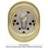 Броненакладка DISEC MAGNETIC 3G2FM DIN OVAL 25мм