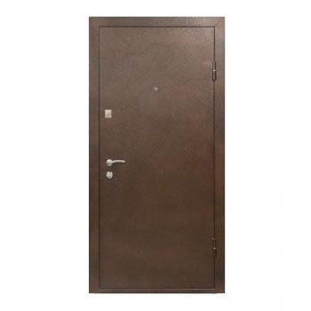 Вхідні двері ПБУ-01 (коньячний горіх)