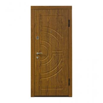 Металеві двері Міністерство Дверей ПО-08 (дуб золотий)