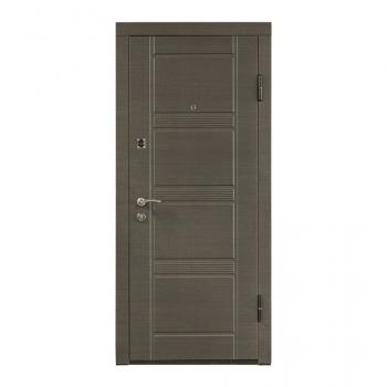 Вхідні двері ПО-29 (венге сірий горизонтальний) Міністерство Дверей