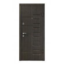 Вхідні металеві двері ПБ-21 (венге структурний)