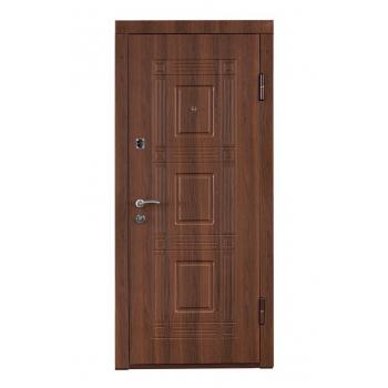 Вхідні двері МіністерствоДверей ПО-02 (горіх білоцерківський)