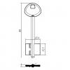изготовление ключей Виготовлення ключів ГАРДІАН 2 (дублікат ключа)