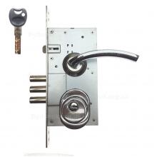 Замок дверний Protect 252R - Imperial-ZC-врізна броненакладка Fuaro