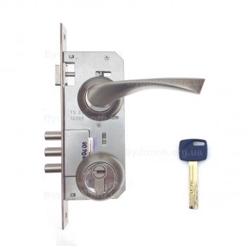 Замок дверний Kale 152-3MR - Apecs-XR-накладка-декор