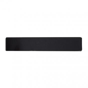 Декоративная вставка RDA Insert 125x21,2 черный глянец