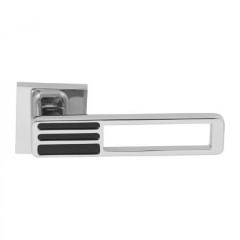 Дверная ручка RDA Bridge хром/черный