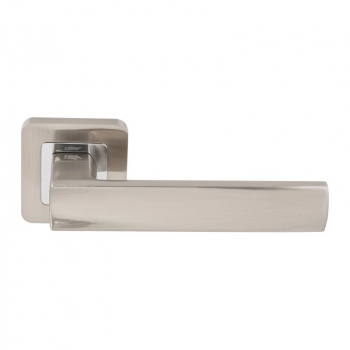 Дверна ручка RDA Cube хром / матовий нікель