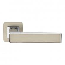 Дверная ручка RDA Line хром полированный/никель матовый