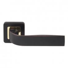 Дверная ручка RDA Sens золото/матовый черный
