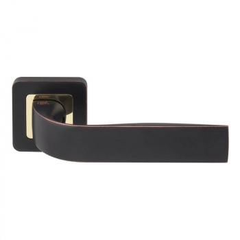 Дверна ручка RDA Sens золото / матовий чорний