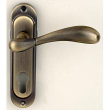 Ручка на планке под ключ RDA ImolaW матовая античная латунь (под замок 1025)
