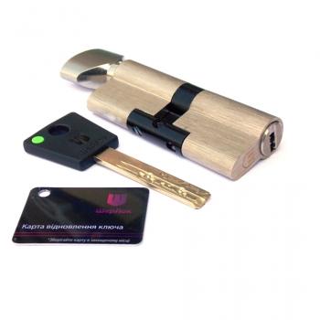 Цилиндр  Sherlock NK ключ-тумблер (никель)
