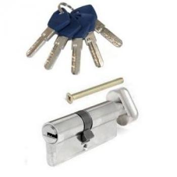 Циліндр AVERS AM ключ-тумблер(хром)