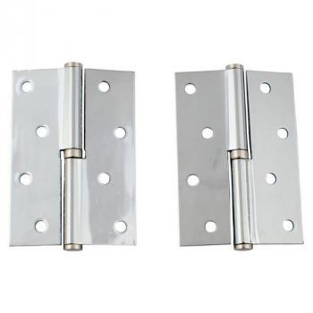 Петли дверные  FUARO 120*70 (никель)