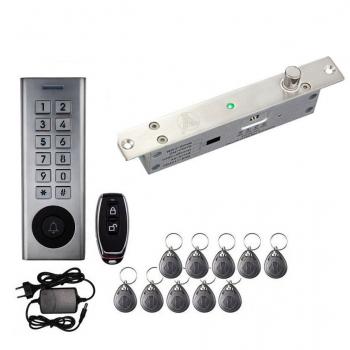 Уличный комплект СКД електроригель YLI  и радио-кодовая клавиатура SEVEN